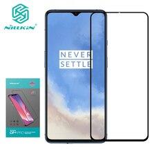 For Oneplus 7T cam Nillkin CP + Pro tam kapak 2.5D için temperli cam ekran koruyucu For Oneplus 7T pro nillkin HD cam