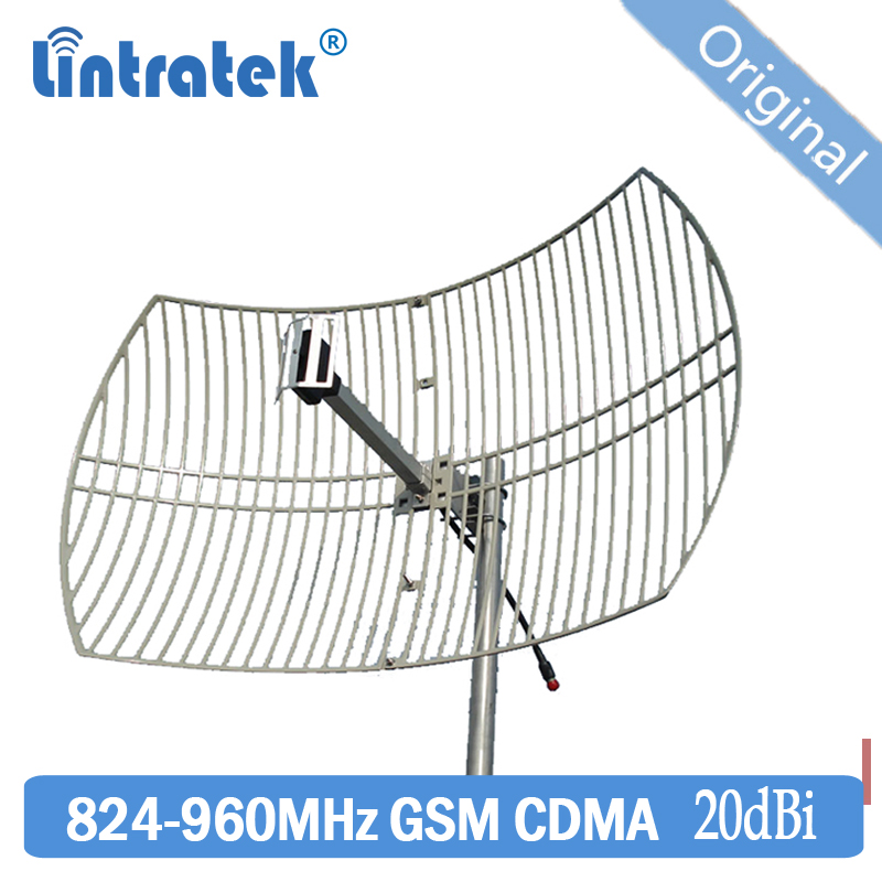 20dbi 824~960mhz Outdoor Directional Parabolic Grid CDMA GSM Antenna For 850 900MHZ Mobile Signal Booster