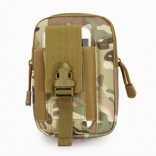 Tactical Molle Pouch Belt Waist Bag Organizer Phone Holder Utility Fanny Pack Mi