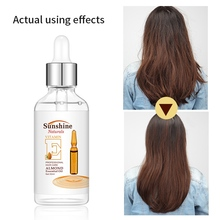 Almond Natural Hair Care Essential Oil Anti-Fork Hydrating Anti-drying