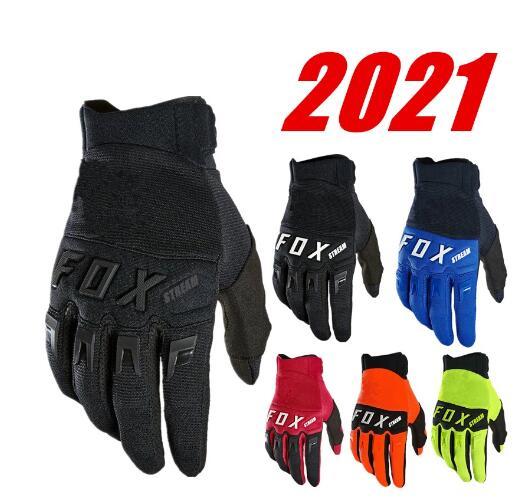 2021 Мотокросс гоночные перчатки из углеродного волокна внедорожный велосипед Велоспорт перчатки Мотокросс Перчатки для мотоциклистов BMX ATV ...