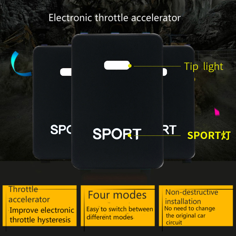 powerbox chip turning Car throttle controller pedal commander for SEOUOIA,COROLLA,carmy,highlander,Tundra,ZELAS,prado,VIOS,EZ