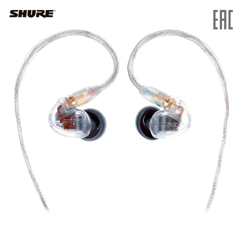 Earphones & Headphones SHURE SE535-CL-EFS Consumer Electronics Portable Audio Earphone Headphone headset for phone computer shure se535 v e