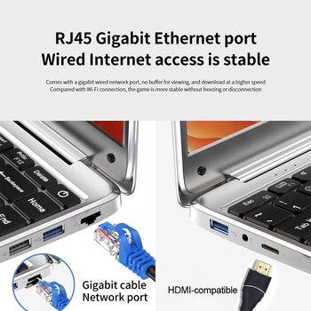 Laptop ultralight KUU KBook, 14.1″ FHD (1.920×1.080), Intel Celeron N3450, 6GB RAM, 128GB/256GB SSD HD Graphics 500 Window10 6