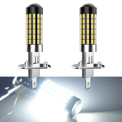 2X H1 H27 881 880 H3 LED Fog Light Bulb 1200LM 6000K White Car Driving Running Lamp Auto 12V 24V For Chevrolet Land Rover Jaguar