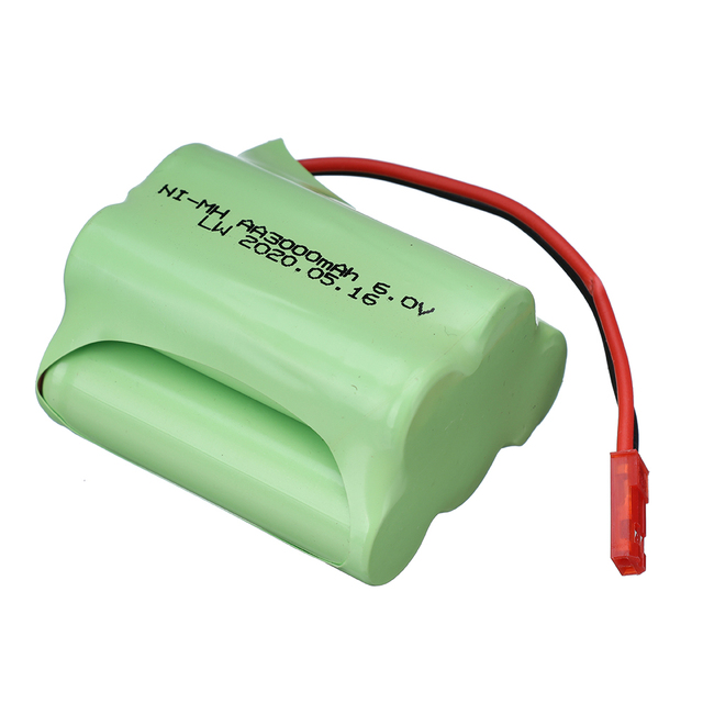 6v 3000mAh Battery and 5in1 Charger For RC Toys Cars Boats Robots Tanks Gun AA 2400 mAh 6 v Rechargeable Battery Pack JST Plug