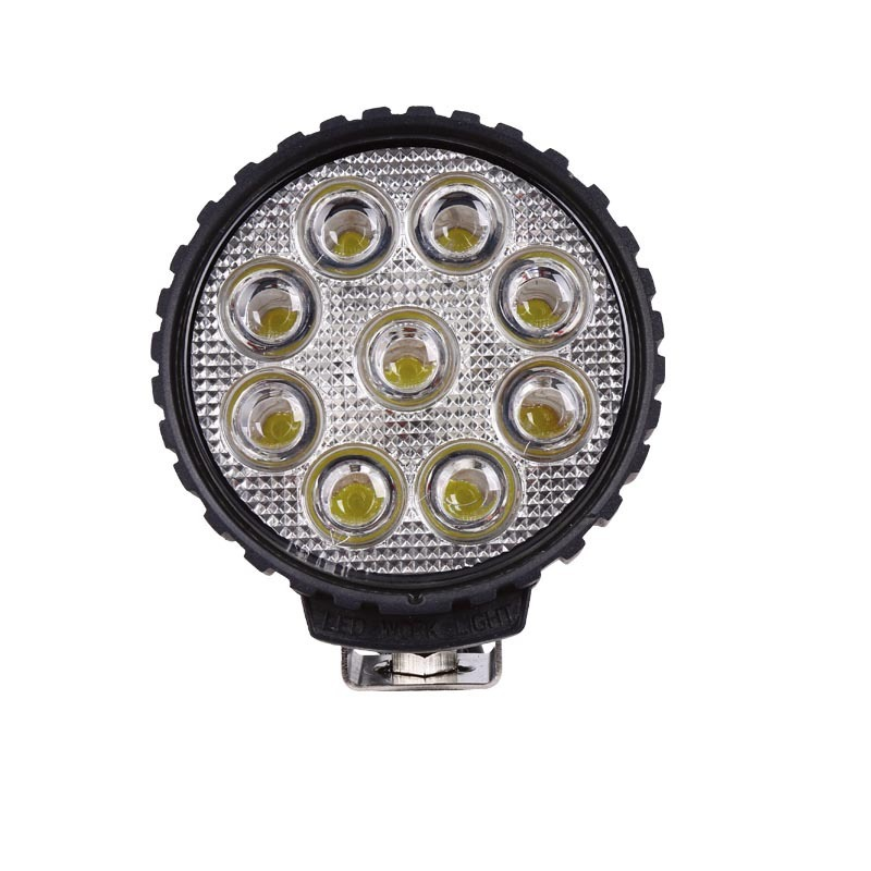 Manufacturer Supply 27W Thick LED Work Light Engineering Machinery Maintenance Work Light Industrial Lighting Spotlight
