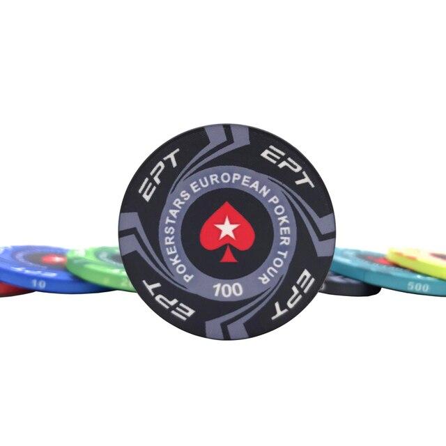 20 Pcs/Lot ETP jetons de Poker en céramique Texas Hold'em  1
