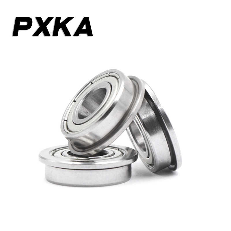 2//5//10pcs Flange Ball Bearing F6700ZZ To F6905ZZ Metal Shielded Flanged Bearings