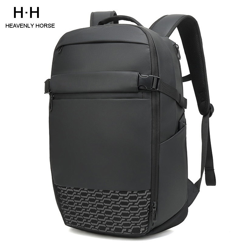Travel Large Capacity  Expand Men Backpack Fit 17 inch Laptop  Multi layer Space Travel Male Bag Anti thief MochilaBackpacks   -