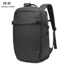 Travel Large Capacity  Expand Men Backpack Fit 17 inch Laptop Multi layer Space Travel Male Bag Anti thief Mochila