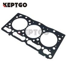 For kubota diesel engine D1105 cylinder head gasket steel one 16261-03310 1E038-03310 16861 03312 new cylinder head gasket for kubota d662 engine