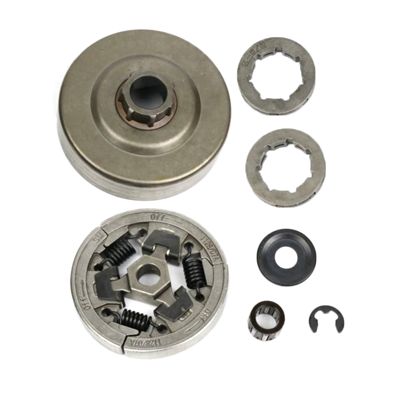 7pcs Sprocket Clutch Kit Metal For Stihl 036 MS360 Chainsaw Replacement