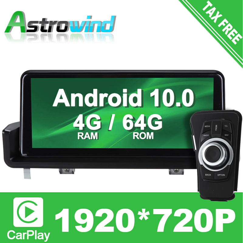 10.25 inch 8 Core 64G ROM Android 10.0 System Car GPS Navigation Media Stereo Radio ForBMW 3 Series E90 E91 E92 E93 CarPlay image