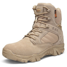 2019  Winter Autumn Men Military Boots Quality Special Force Tactical Desert Combat Ankle Boats Army Work Shoes Safety Boots zenvbnv winter autumn men snow military boots quality special force tactical desert combat ankle boats army work leather shoes