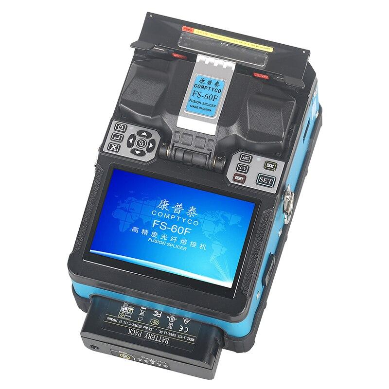 Продукт продвижение COMPTYCO FTTH волоконно-оптический сварочный аппарат для сращивания оптического волокна FS-60F