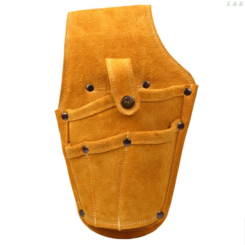 Wearable Waist Pack Electric Drill Bag Screws Nails Drill Bit  Pouch Bag U50A