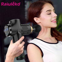 Electronic Therapy Body Massage Gun 20 Files 24V Brushless LED Massage Fascia Guns Body Muscles Relaxing Relief Pains 4 Head