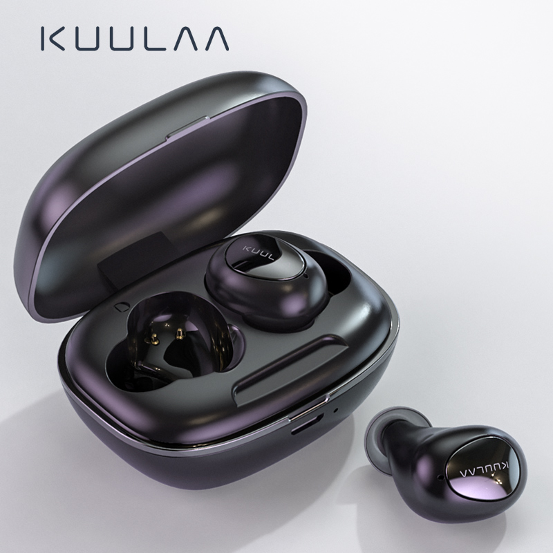 KUULAA TWS Bluetooth Earphone Wireless Headphones Bluetooth 5 0 Handsfree Gaming Headset Blutooth Earphone In Ear Sports Earbuds