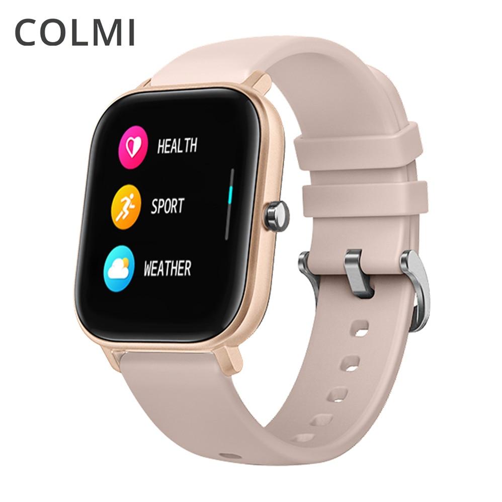 COLMI P8 Smart Watch Men BluetoothMen Blood Pressure Round Smartwatch Women Watch Waterproof Sport Tracker WhatsApp