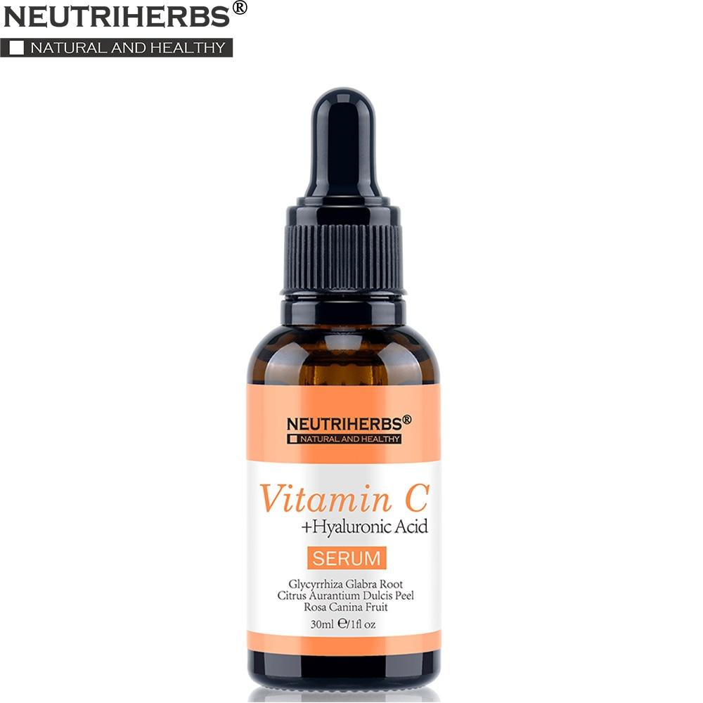 Neutriherbs 20% Natural Vitamin C Serum for Face Natural Facial Whitening Antioxidant Anti Wrinkle Aging Serum 30ml