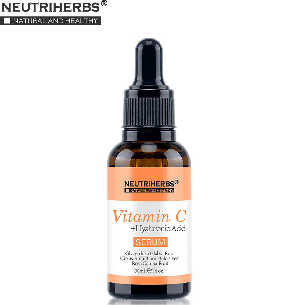 Neutriherbs 20% Vitamin C Tự Nhiên Serum Cho Da Mặt Tự Nhiên Dưỡng Trắng Da Mặt Chống Oxy Hóa Chống Nhăn Lão Hóa 30 Ml