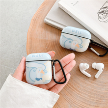 Cute Cartoon Earphone Case For Apple Airpods 3 2 1 Cover Funny Silicone Headphones Capas For air pods Pro Charging Box Funda