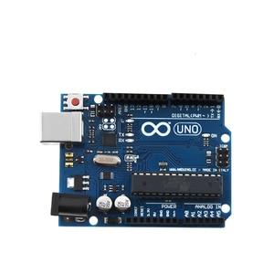 Image 5 - For Arduino UNO R3 CH340G MEGA328P Chip 16Mhz ATMEGA328P AU Development Board Integrated Circuits Kit Original Case + USB Cable