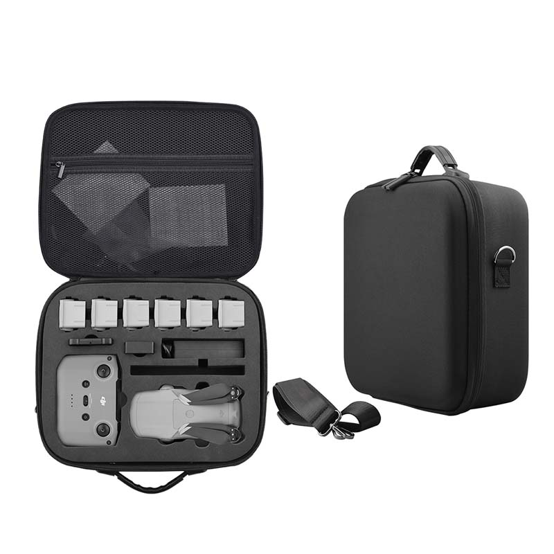 Travel Shoulder Bags For DJi Mavic Air 2 Storage Bag Hardshell Box Nylon Portable Package Carrying Case for mavic air2 Accessory