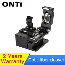 ONTi Fiber Cleaver Optical Fusion Cable Cutting Knife FTTH Single Mode