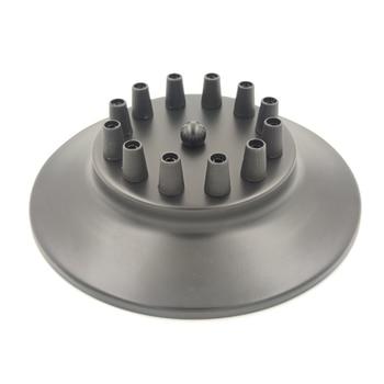 Ceiling Plate Vintage Round 20cm 3/6/14 Holes Lighting For Pendant Lamp DIY +Lock Wire Black 8 Head Base