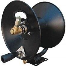 """YAMATIC 3/"""" x 100 'стальной шланг катушка с поворотным кронштейном и монтажным кронштейном, 4000 фунтов/кв. дюйм"""