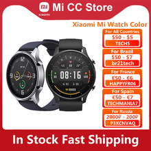 Orologio Xiaomi Mi originale Color 1.39 ''AMOLED GPS Fitness Tracker 5ATM impermeabile Sport cardiofrequenzimetro Mi Smart Watch