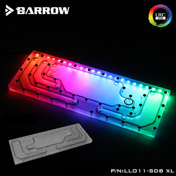 Acrylic Board Water Channel Solution kit use for LIAN LI O11D XL Case / Kit for CPU and GPU Block MOBO AURA D-RGB Type