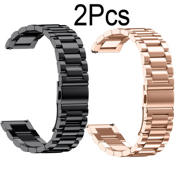 Milanese Stainless Steel Metal Strap For Xiaomi Huami Amazfit GTS/Bip/GTR 42mm 47mm Bracelet Watch Band 20mm/22mm Wristband