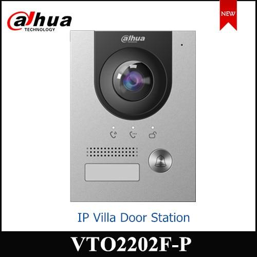Dahua IP Villa Door Station 2MP CMOS Camera VTO2202F-P Night Vision Voice Indicator Compatible With VTH2421FB-P VTH5222CH-S1
