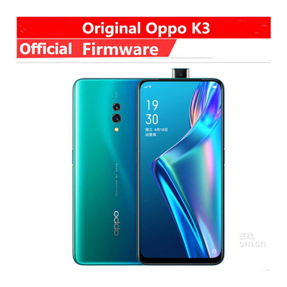 """In Stock Oppo K3 4G LTE Sim Free Phone Snapdragon 710 Android 9.0 6.5"""" 2340X1080 8GB RAM 256GB ROM 16.0MP Fingerprint Face ID