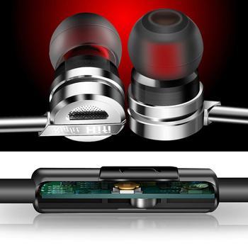 QKZ DM9 Metal Heavy Bass Music auriculares dentro de la oreja auriculares con micrófono de teléfono