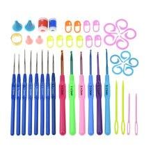 Jiwuo 14 шт крючком игла крюк рукоделие ткачество набор инструментов