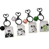 Kreative Milch Einfache Auto Trend Box Serie Acryl Cartoon Schlüssel Taste Koreanische Version von Anhänger Teasing Schwester Nützliche Produkt|Schlüsseletui für Auto|Kraftfahrzeuge und Motorräder -