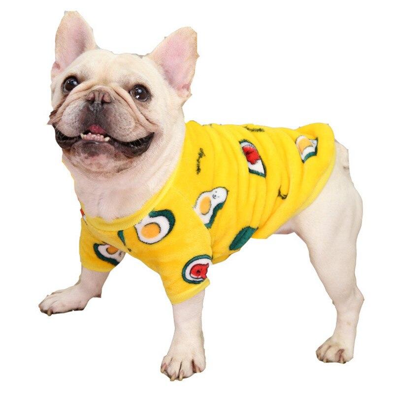 Dog Winter Clothes Fleece Warm Sleepwear Clothing Pet Jacket Coat Lovely Design Romper Pajamas For Cat