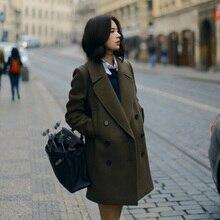 Jacket Coats Female Warm Autumn Winter Women's Fashion Cheap Casual A62-170807Z Bisic