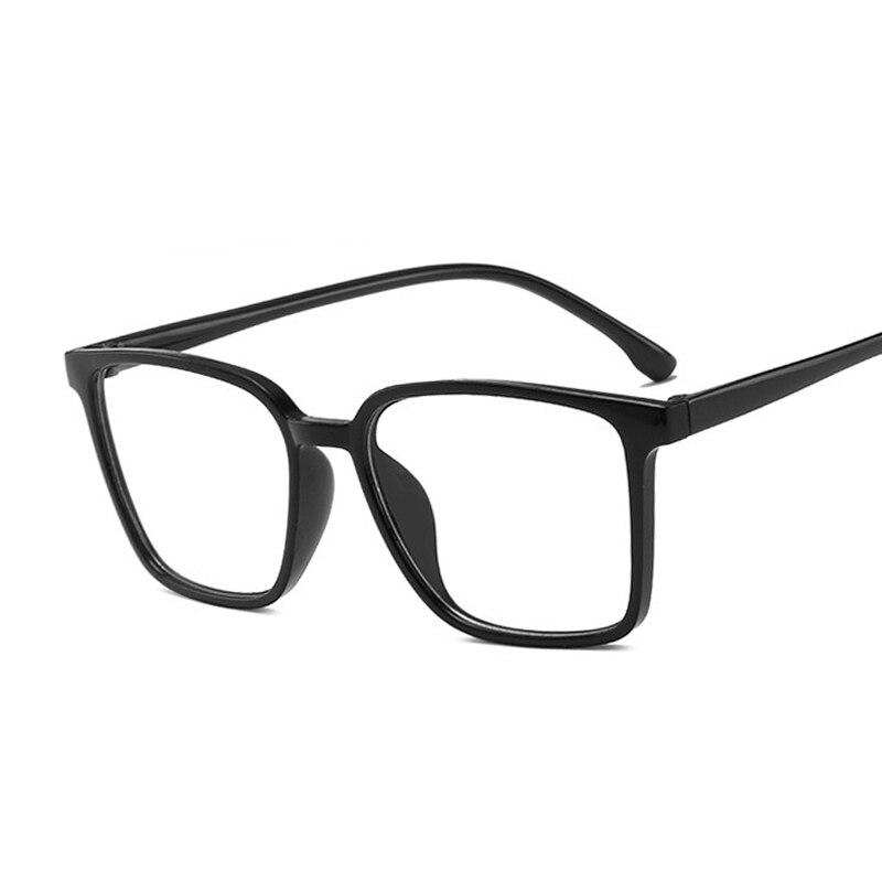 Квадратные модные мужские очки с оправой женские очки с прозрачными стеклами брендовые прозрачные ретро очки женские мужские Оптические о...