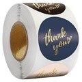 1,5 дюймов спасибо клей Стикеры s с любовью Свадебная вечеринка свадебные сувениры почтовый конверт поставки упаковки стикер для канцелярск...