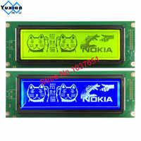 24064 240*64 display lcd del pannello di verde blu grafico dello schermo modulo UCI6963 o T6963 LCM24064-2 LM24064DBY trasporto libero 1pcs