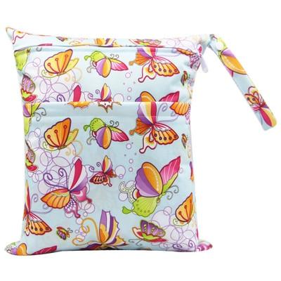 Multifunctional Baby Diaper Bags Reusable Wet Bag Fashion Waterproof Diaper Organizer Portable Mummy Bag Stroller Accessories