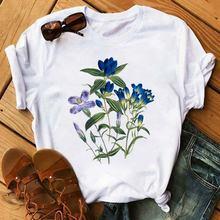 Забавная женская футболка в стиле Харадзюку корейские Топы с
