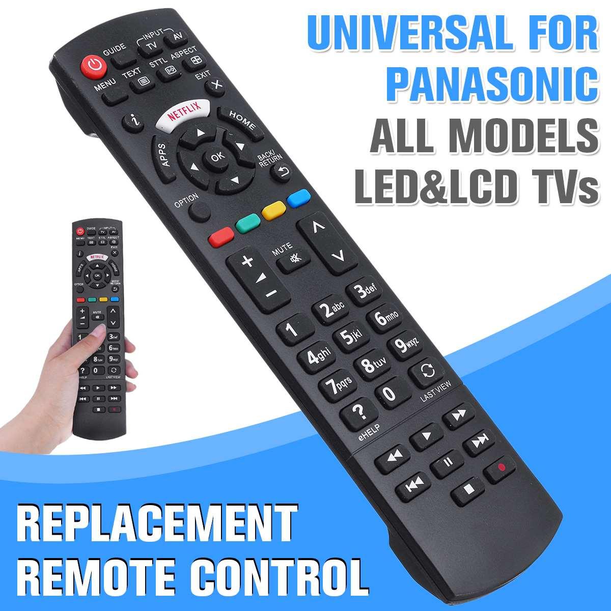 Универсальный пульт дистанционного управления для ЖК/LED/HDTV пульт дистанционного управления для Panasonic TV N2QAYB000572 N2QAYB000487 EUR76280