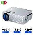 LEISTUNGSSTARKE MINI Projektor X5 + 1280*720P 2600L 1080p HD Unterstützung Tragbare Beamer Kompatibel mit TV Stick, PS4, HDMI, VGA, und USB