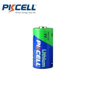 Image 3 - 20 X PKCELL CR123A 3v батарея CR 123A CR17345 KL23a VL123A DL123A 5018LC EL123AP литиевые неперезаряжаемые батареи